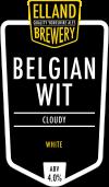 Belgian Wit_Elland Brewery